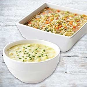 Hearty Vegetable Chicken and Creamy Potato Soups