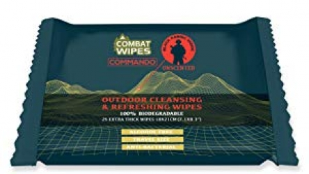 Combat Wipes Commando Black