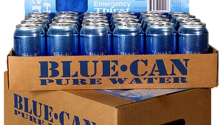 Blue Can Premium Emergency Drinking Water