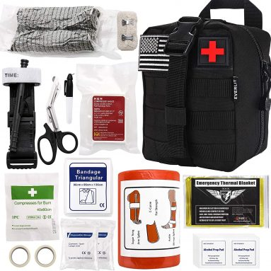 Everlit Emergency Survival Trauma Kit with Tourniquet