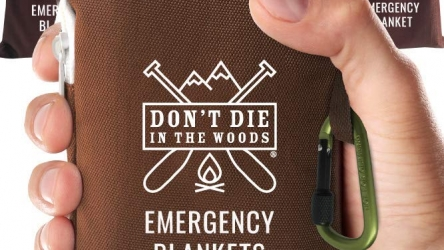 Don't Die In The Woods World's Toughest Emergency Blankets